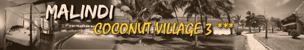 MALINDI – COCONUT VILLAGE 3 ***
